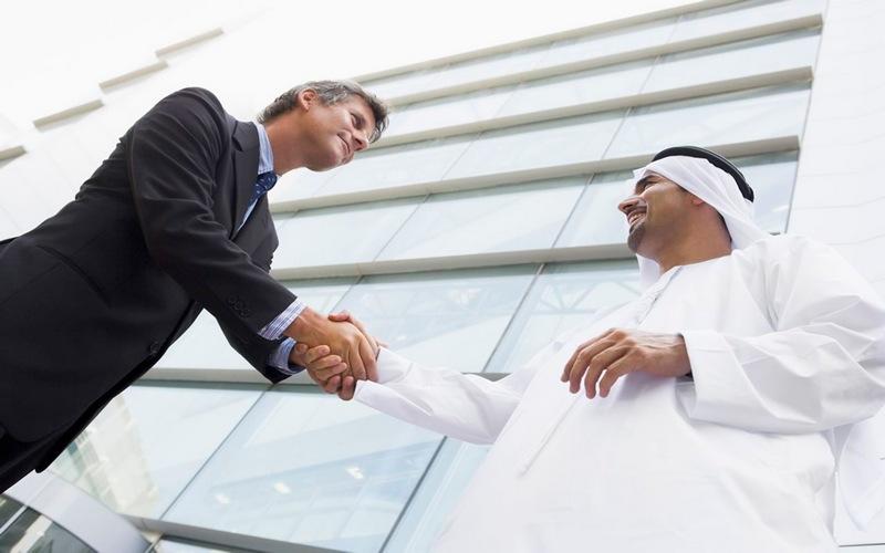 встреча с исламским бизнесменом