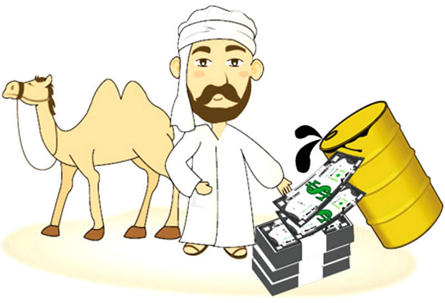 шейх и верблюд