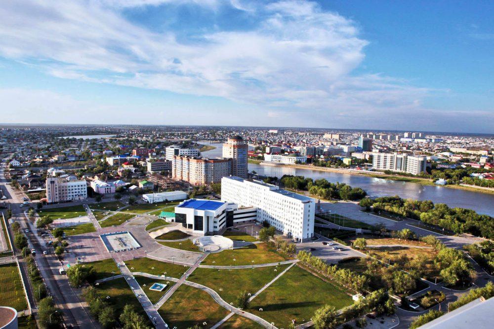 Отделения Каспий банка в городе Атырау