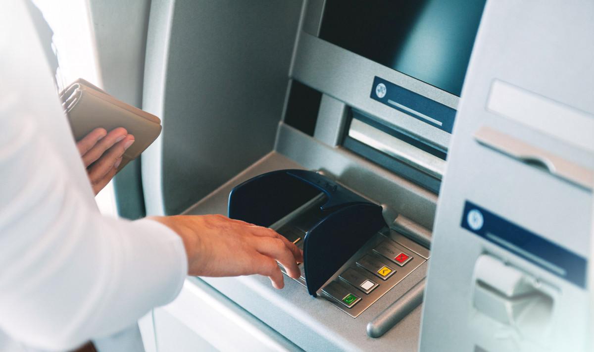 Обналичивание с помощью банкомата
