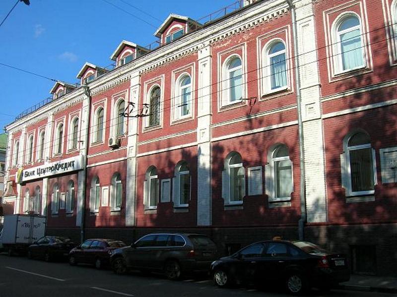 Центральный офис банка «ЦентроКредит» в Москве